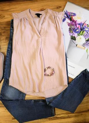 Вискозная блуза /топ h&m размера xs /s