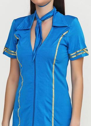 Арт. 025 маскарадный костюм платье или сарафан стюардессы hanky panky