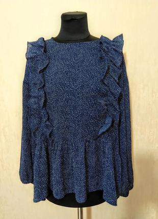 Блуза блузка рубашка оверсайз свободного кроя