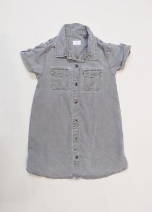 Актуальное платье рубашка next 4-6 лет