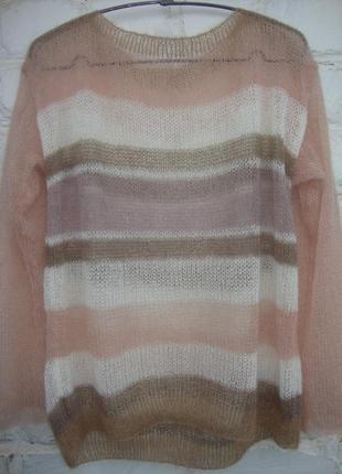 Sale!   свитер паутинка из итальянского кид мохера