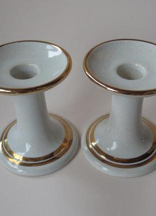 Винтажные керамические подсвечники швеция hoganas keramik подсвечник фарфор порцеляна