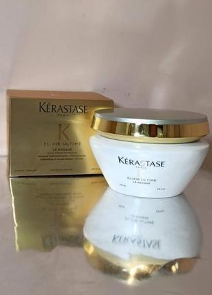 Питательная маска для тусклых волос kerastase elixir ultime