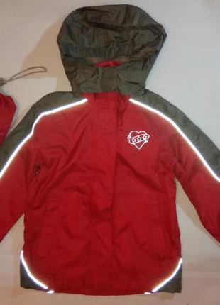 Курточка ветровка дождевик вотерпруф легкая походная