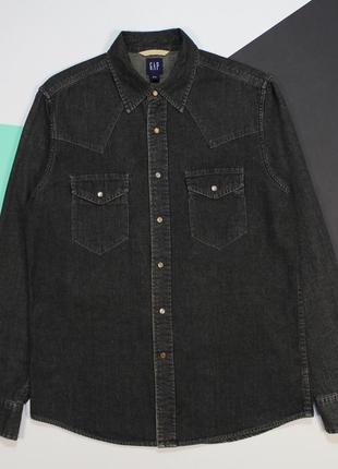 Мощная джинсовая рубашка с washed-эффектом от gap