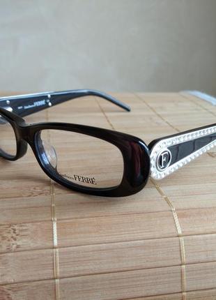 Фирменная оправа под линзы, очки оригинал италия ferre gf36204