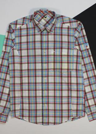 Оригинальная рубашка в приятной цветовой гамме от salewa