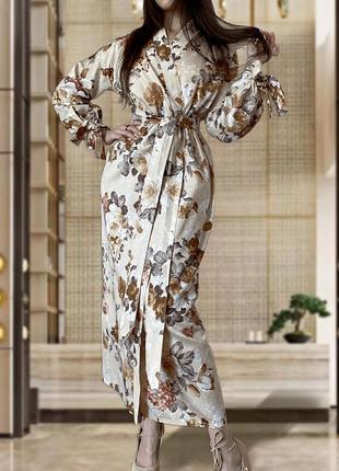 Элегантный халат кимоно накидка lacreccita couture