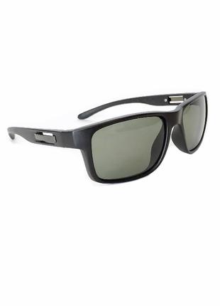 Очки черные матовые защита uv 400