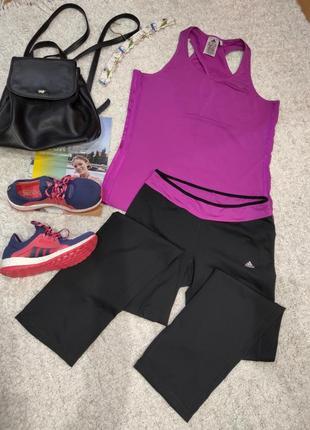 Спортивный костюм  для тренировок на лето  adidas climacool