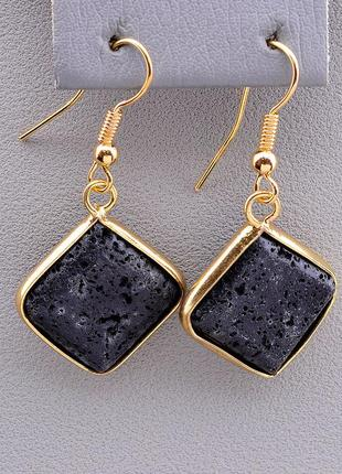 Серьги 'sunstones' лава 0911910