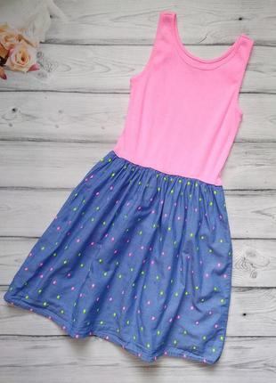 Летнее платье gap для девочки 9-10 лет