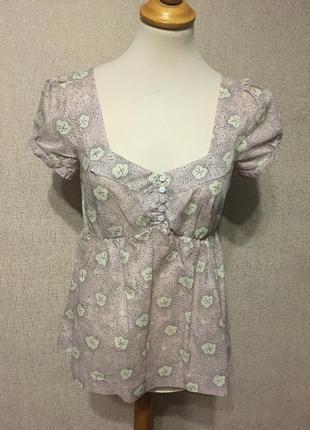 Блуза жен. h&m,р.s-m,хлопок,индия