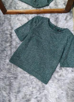 Блуза свитшот топ прямого кроя topshop