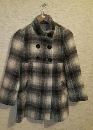 Женское  полупальто из ткани альпака бренд pablo de gerard darel