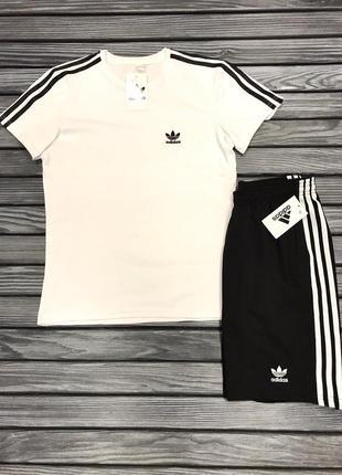Комплект костюм adidas шорты + футболка спортивная футбольная форма