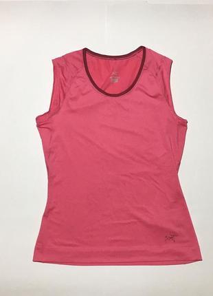Женская спортивная футболка , майка arc'teryx