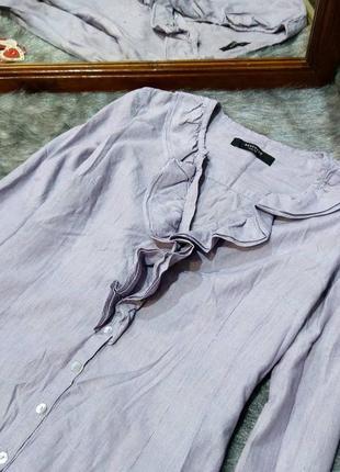 Блуза кофточка из коттона с рюшей на лифе reserved2 фото