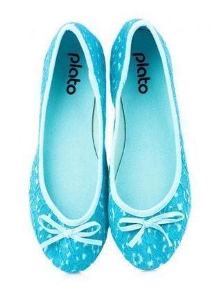 Лёгкие удобные текстильные балетки 39, 40 размеров по супер цене - 80 грн.