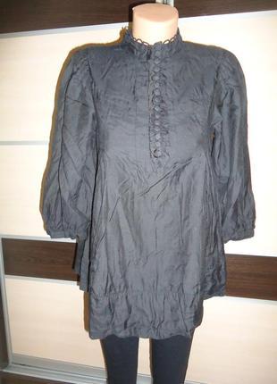 Блуза h&m  51% mulberry silk