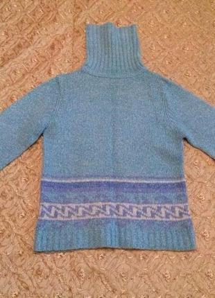 Тёплый свитер под горло (р. 44-46)