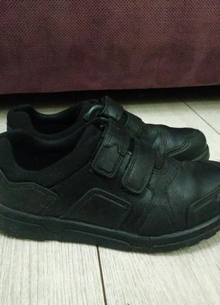 Туфли для школы clarks рр 31 кожа