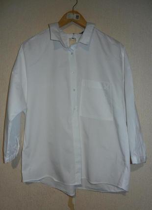 Интересная натуральная рубашка бойфренд (см все фото)