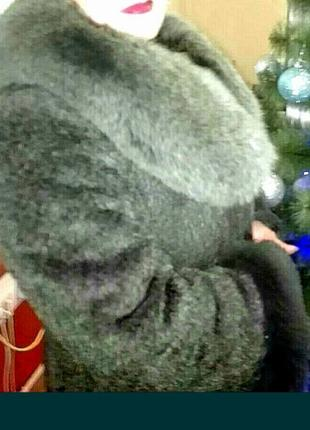 Зимнее пальто б/у.