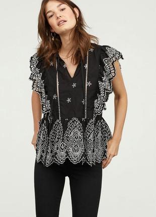 Блуза с стиле этно