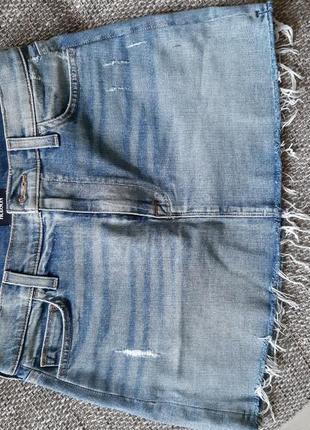 Джинсовая юбка hudson оригинал