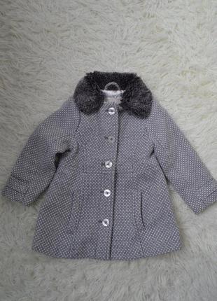 Пальто для дівчинки cherokee 2т1 фото