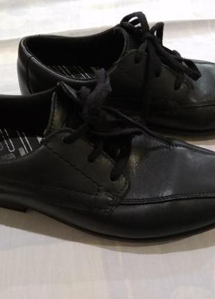 Туфли bootleg кожаные