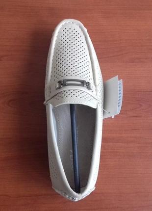Туфли мокасины для парня-размер 37
