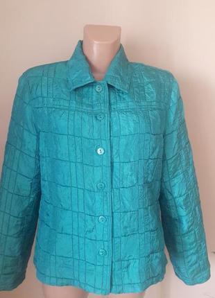 Легенькая утепленная куртка пиджак) пог 52 erin