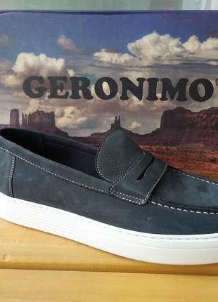 Кожаные мокасины / туфли geronimo
