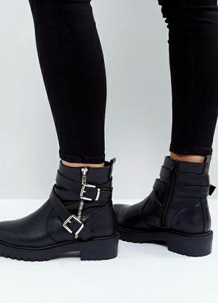 Нереально крутые кожаные ботинки zara