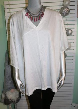 Белая оверсайз футболка cos