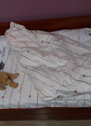 Постельное подростковое белье тм вилюта, ранфорс, бязь, постель