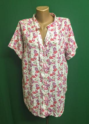 Летняя рубашка marks&spencer