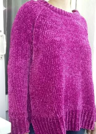 Вилюровый свитер