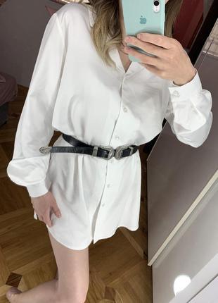 Платье рубашка, boohoo