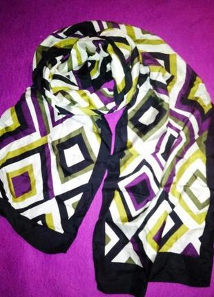 Шёлковый шарф в подарок