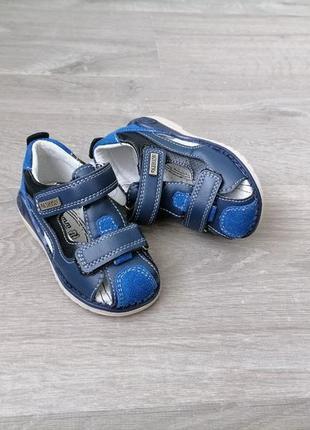 Сандали для мальчика, кожаные сандали для мальчика tom m, босоножки для мальчика