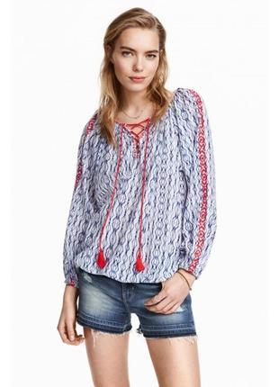 Блуза вишиванка h&m
