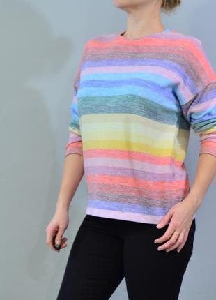 4311\70 мягкий свитер peacocs l