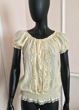 Новая летнняя футболка блуза из италии