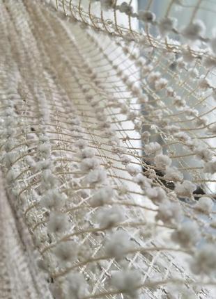 Мягкий пушистый тюль сеточка2 фото