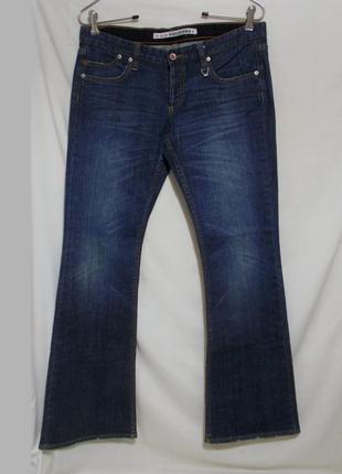 Rrp120€ новые джинсы стрейч синие w30 l32 *gsus sindustries*