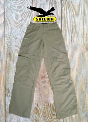 🐾🐾salewa drylon треккинговые брюки штаны - шорты 2 в 1 мужские оливка  🐾🐾