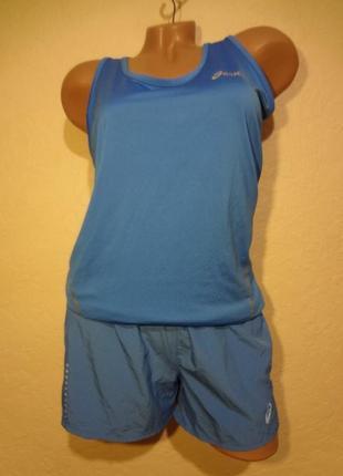 Комплект шорты майка asics размер s m
